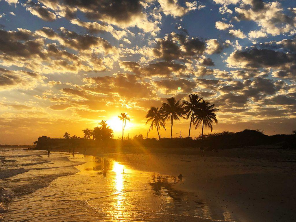 Guanabo Beach, Sunrise, Havana, Cuba
