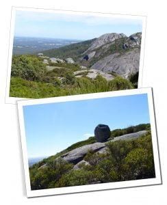 Views from Nancy Peak, Porongurup NPin Western Australia