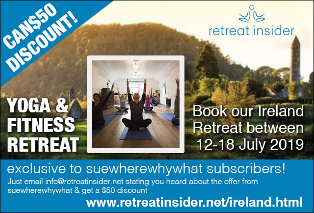 Yoga Retreat Advert for Retreat insider
