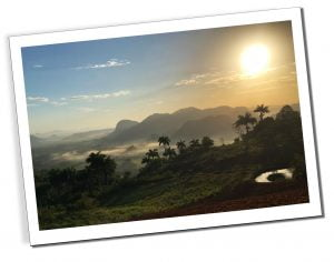Sunrise, Vinales, viewpoint
