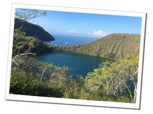 Isabela Lake Darwin, Galápagos Islands, Ecuador