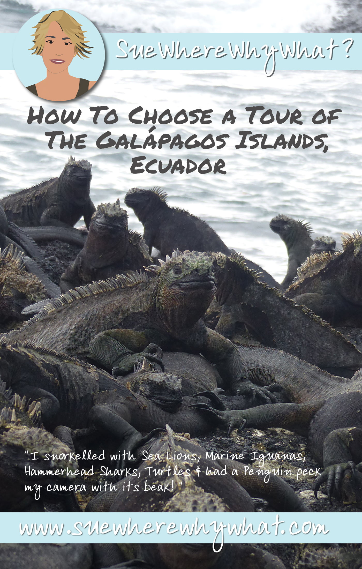 What you need to consider when looking to visit the Galápagos Islands in Ecuador. Includes advice on When to Go, Where to Go, How Long For, How Much It Costs, What To Take, What to Expect & What Rules you need to follow.