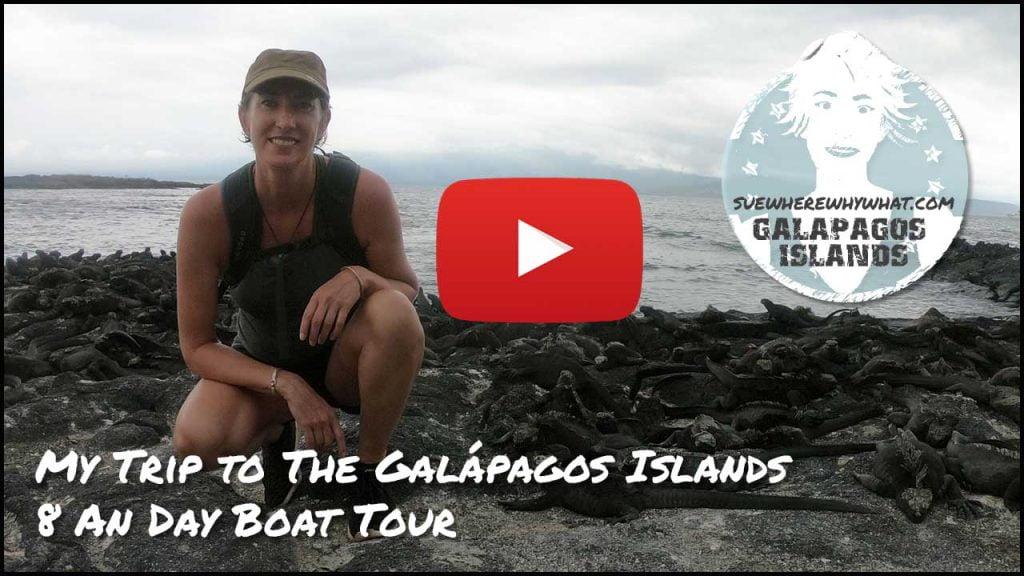 My Trip to The Galápagos Islands - 8 Day Boat Tour, Ecuador, South America
