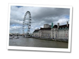 The London Eye and County Hall, London