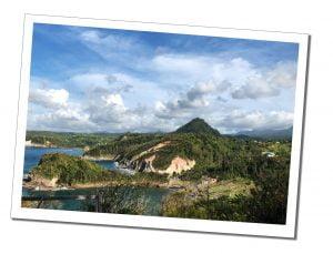 Dominica scenery, Caribbean