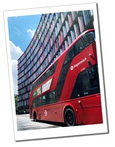 A world famous Red London Bus, London