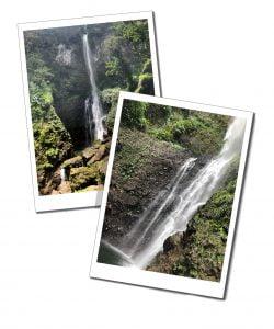 Middleham Falls, Dominica, Caribbean