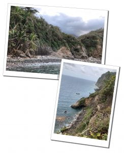 The shoreline used in Pirates of the Caribbean, Dominica, Caribbean