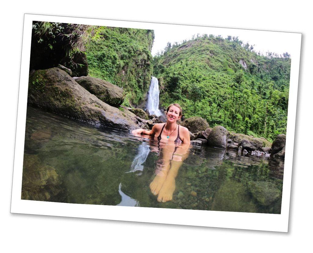 SueWhereWhyWhat Trafalgar falls, Dominica, Caribbean