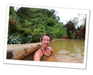 SueWhereWhyWhat, hot spring, Wooton Waven, Dominica, Caribbean