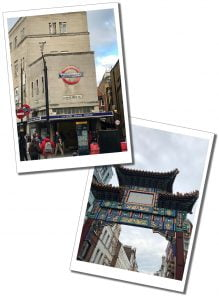 Leicester Square and China Town, London