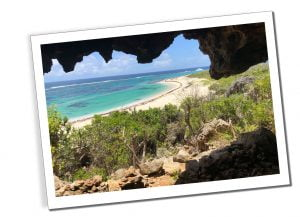 Cave on the beach at Two Foot Bay, Everything You Need To Know Before Visiting Barbuda