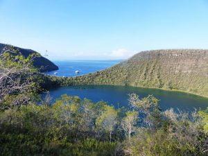 Darwin Lake, Galápagos