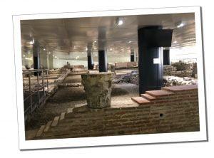 Roman remains, Sofia, Bulgaria