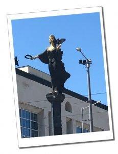 Statue of Sophia, Sofia, Bulgaria