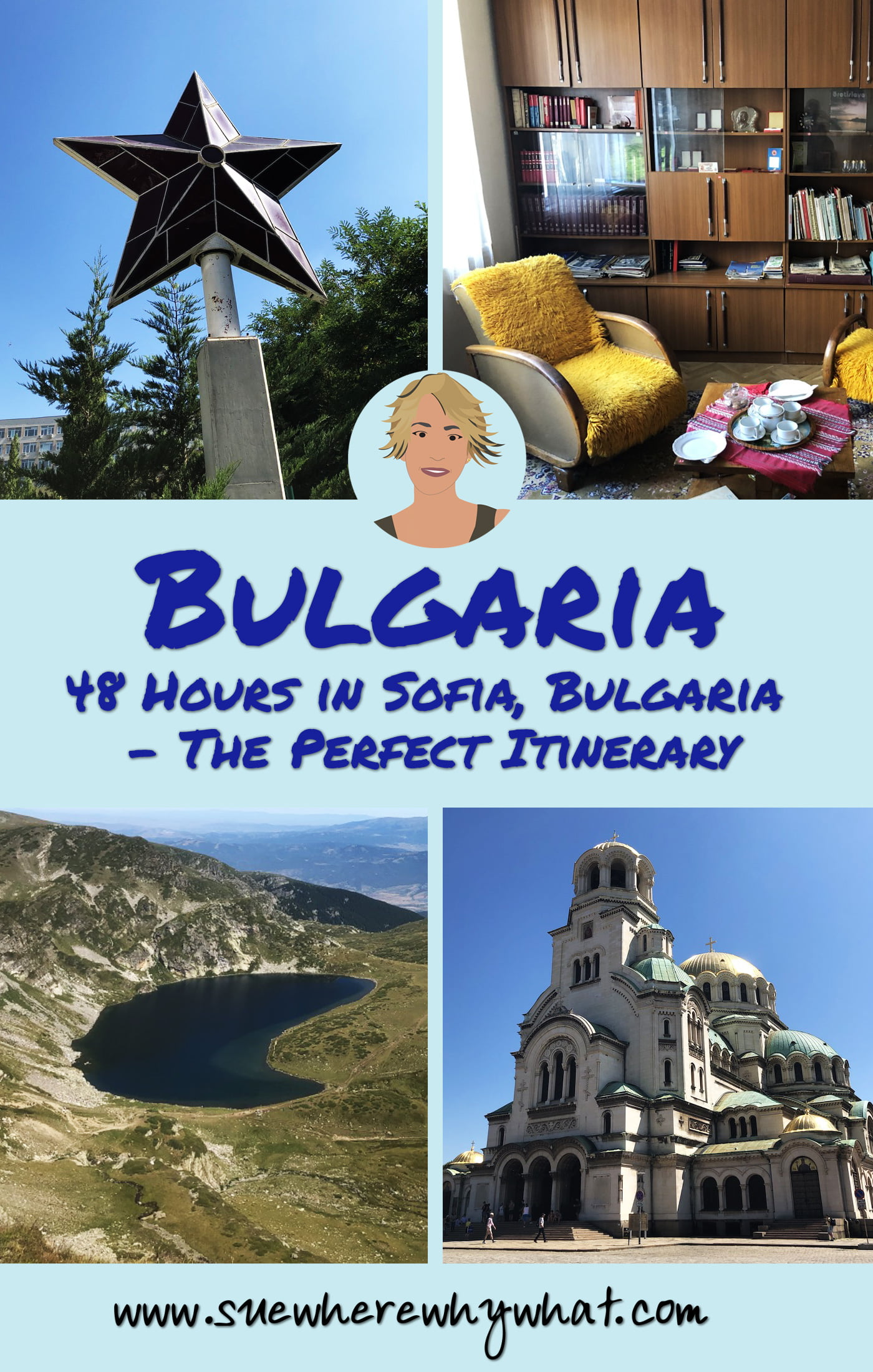 48 Hours in Sofia, Bulgaria. A perfect itinerary for a short trip to this fascinating city. This itinerary gives you a flavour of all the main sights of Sofia, an understanding of the complex history of the country, a taste of its communist past & an opportunity to get out of the city to discover the beautiful area of Rila.