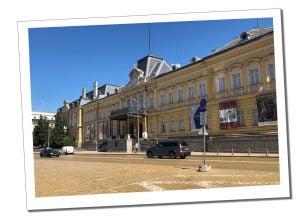 The Tzars Palace. Sofia, Bulgaria.
