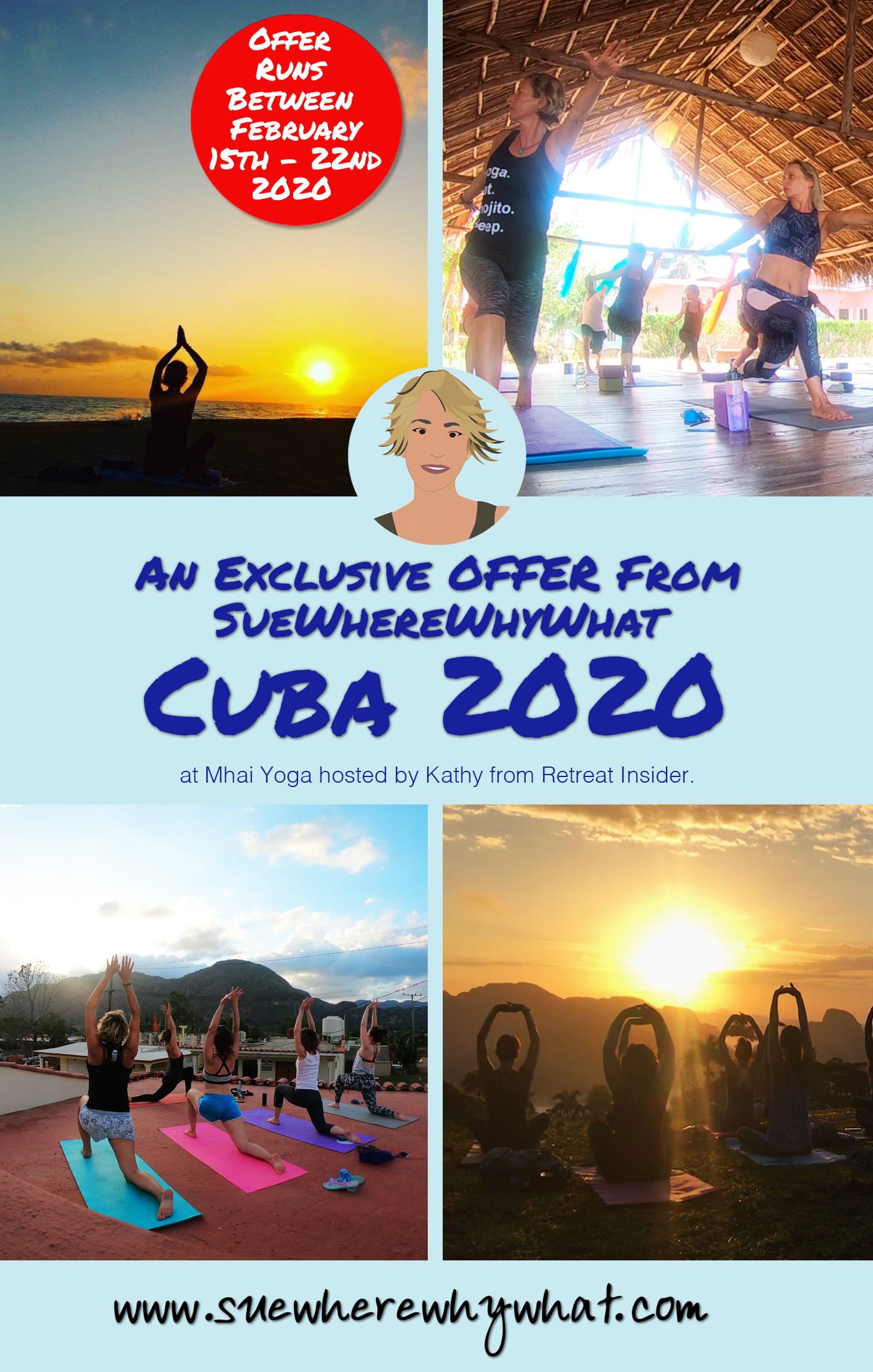 If you have read any of my posts on Cuba then you will know how much I love the island. I always leave feeling energised & invigorated in mind, body & spirit. Much of this has to do with attending a couple of amazing yoga retreats at Mhai Yoga hosted by Kathy from Retreat Insider.
