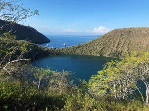 Darwin Lake, Isla Isabela, Galápagos Islands