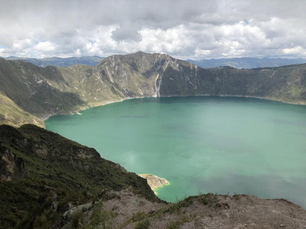 Laguna Quilotoa, Ecuador