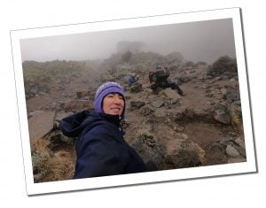 SWWW in the mist heading at Lava Tower