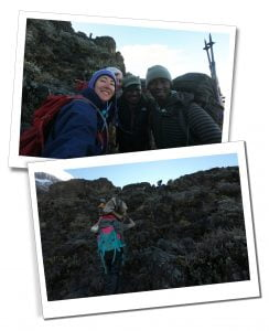 The Baranco Wall. Mount Kilimanjaro, Tanzania
