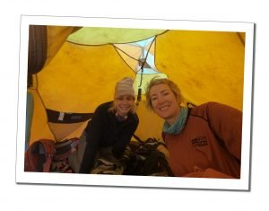 Inside the tent at Karanga Camp