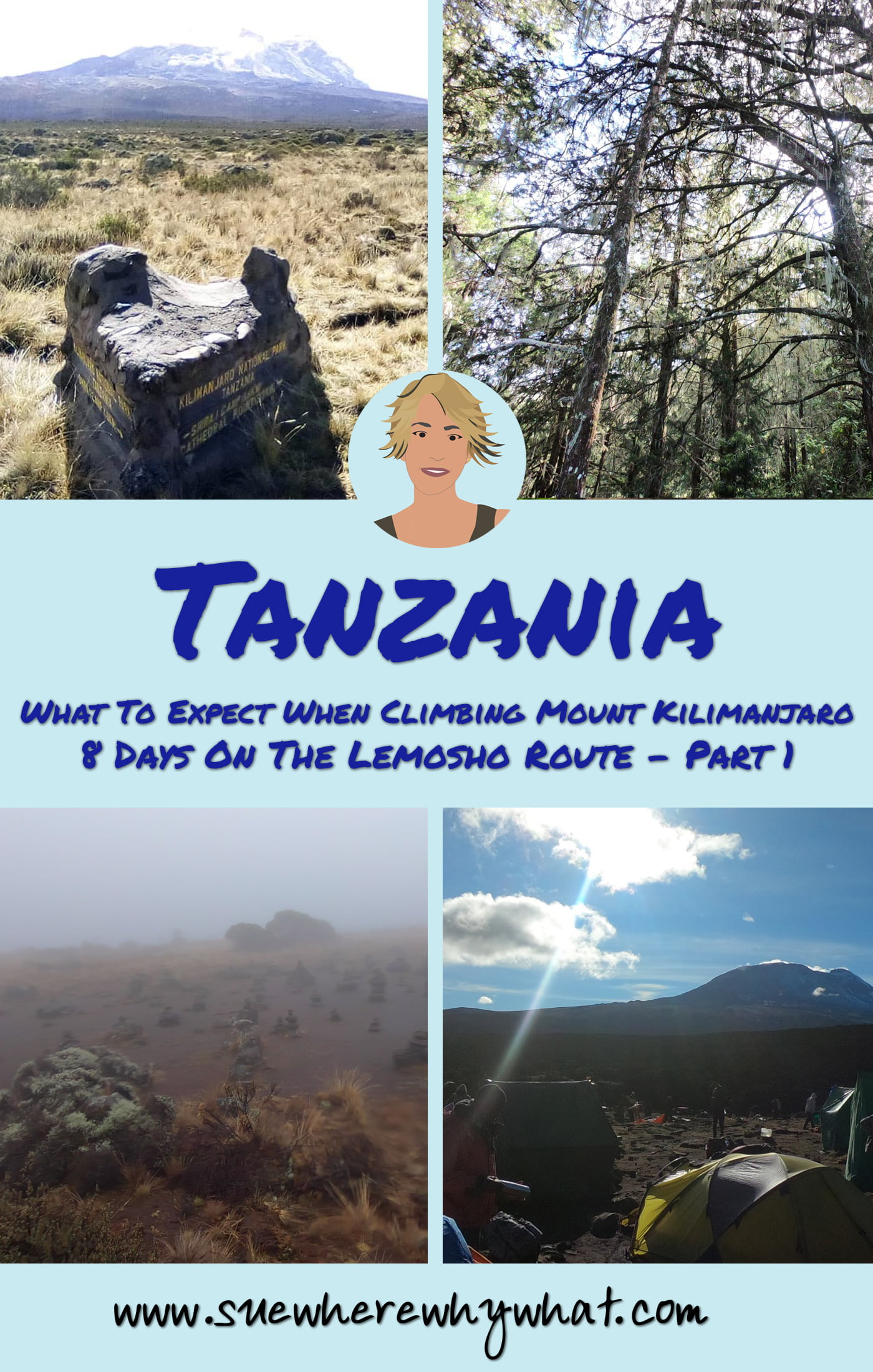 Climbing Mount Kilimanjaro in 8 Days – Lemosho Route. If you have ever wondered what it is like to hike Mount Kilimanjaro, here is the story of my first 3 days on the Lemosho Route. Includes what to expect from the route, the distances, the camps & the altitude.