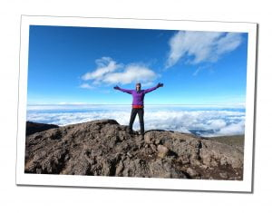 Top of the Baranco Wall, Kilimanjaro