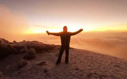Climbing Mnt Kilimanjaro in 8 Days Lemosho Route Part 3 The Summit