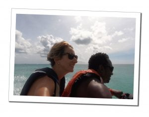 SWWW and friend Jetski, Antigua