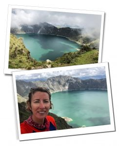 SWWW at Lake Quilotoa, Quilotoa Loop, Ecuador