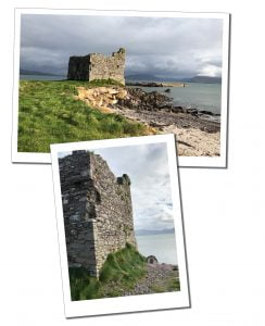 McCarthy's Castle at Ballinskelligs, Ring of Kerry, Ireland