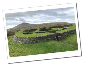 Cahergill & Leacanabuile Ancient Stone Forts on the Ring of Kerry