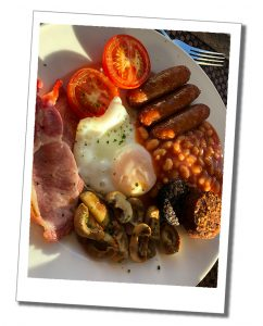 A fabulous Irish breakfast, Ring of Kerry, Ireland