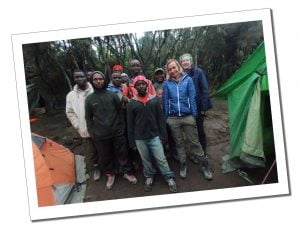 SWWW and The Porters and Guides, Mount Kilimanjaro