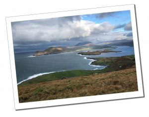 From Geokaun Mountain, Valentina Island, Ireland
