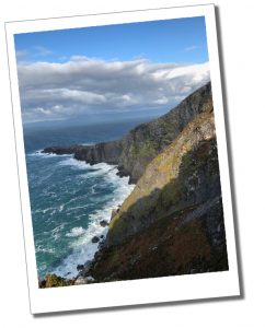 Valentia Island, Fogher Cliffs, Ring of Kerry, Ireland