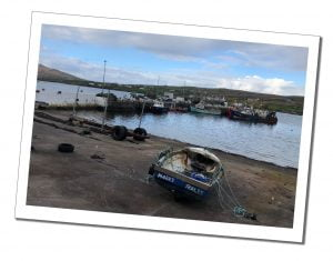Boats in Portmagee, Ring of Kerry, Ireland