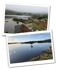 Watery views of Cork, Ring of Kerry, Ireland