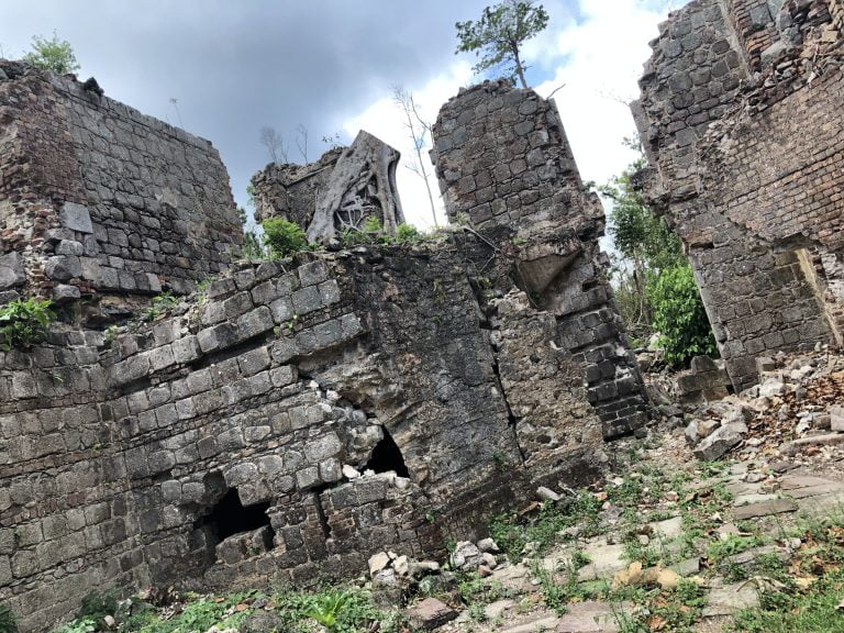 Ruins at Fort Shirley, Cabrits National Park, Dominica