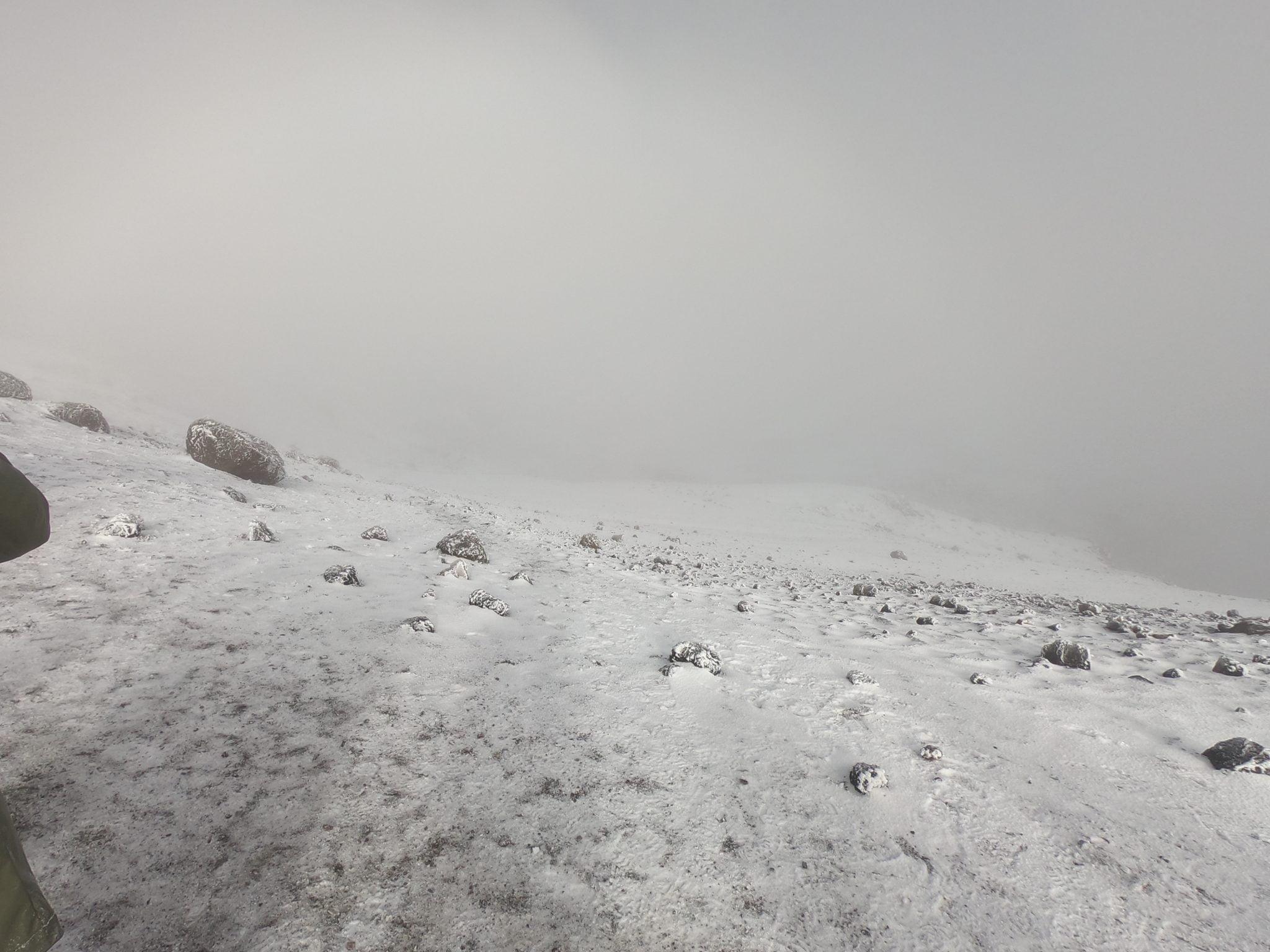 The Summit, Mt Kilimanjaro, Tanzania