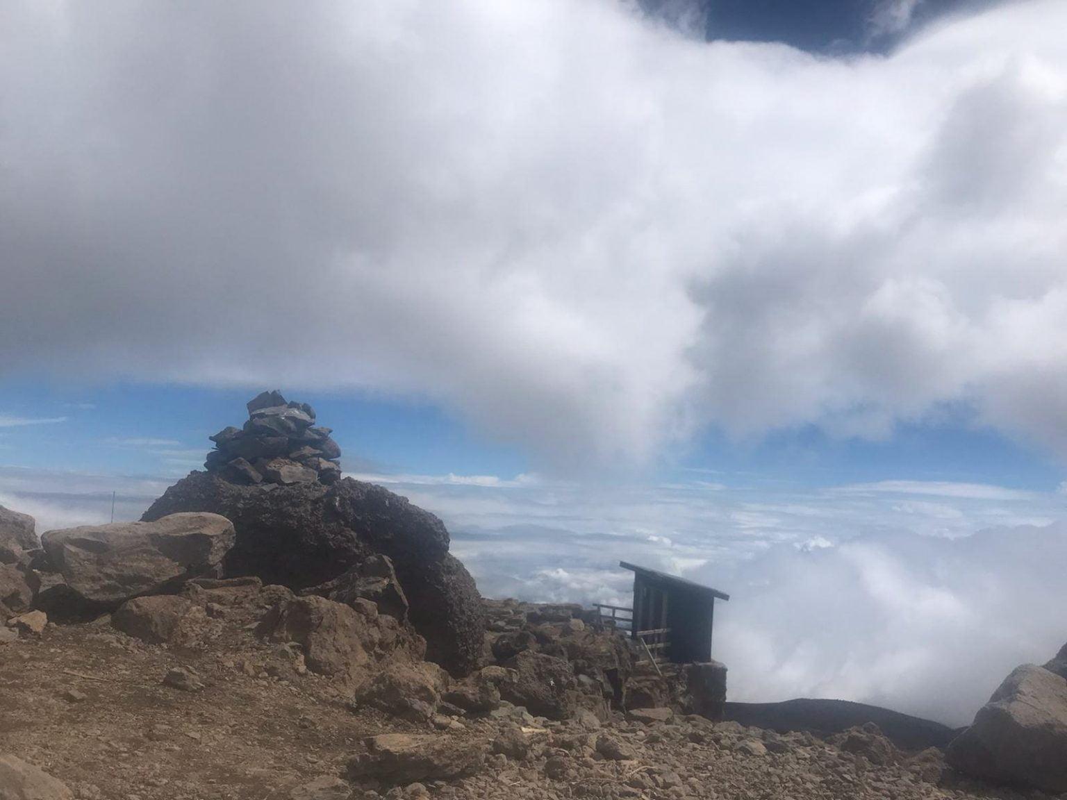 Top of the Baranco Wall, Lemosho Route, Mount Kilimanjaro