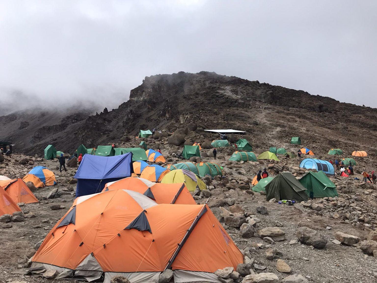 Baranco Camp, Mount Kilimanjaro, Tanzania