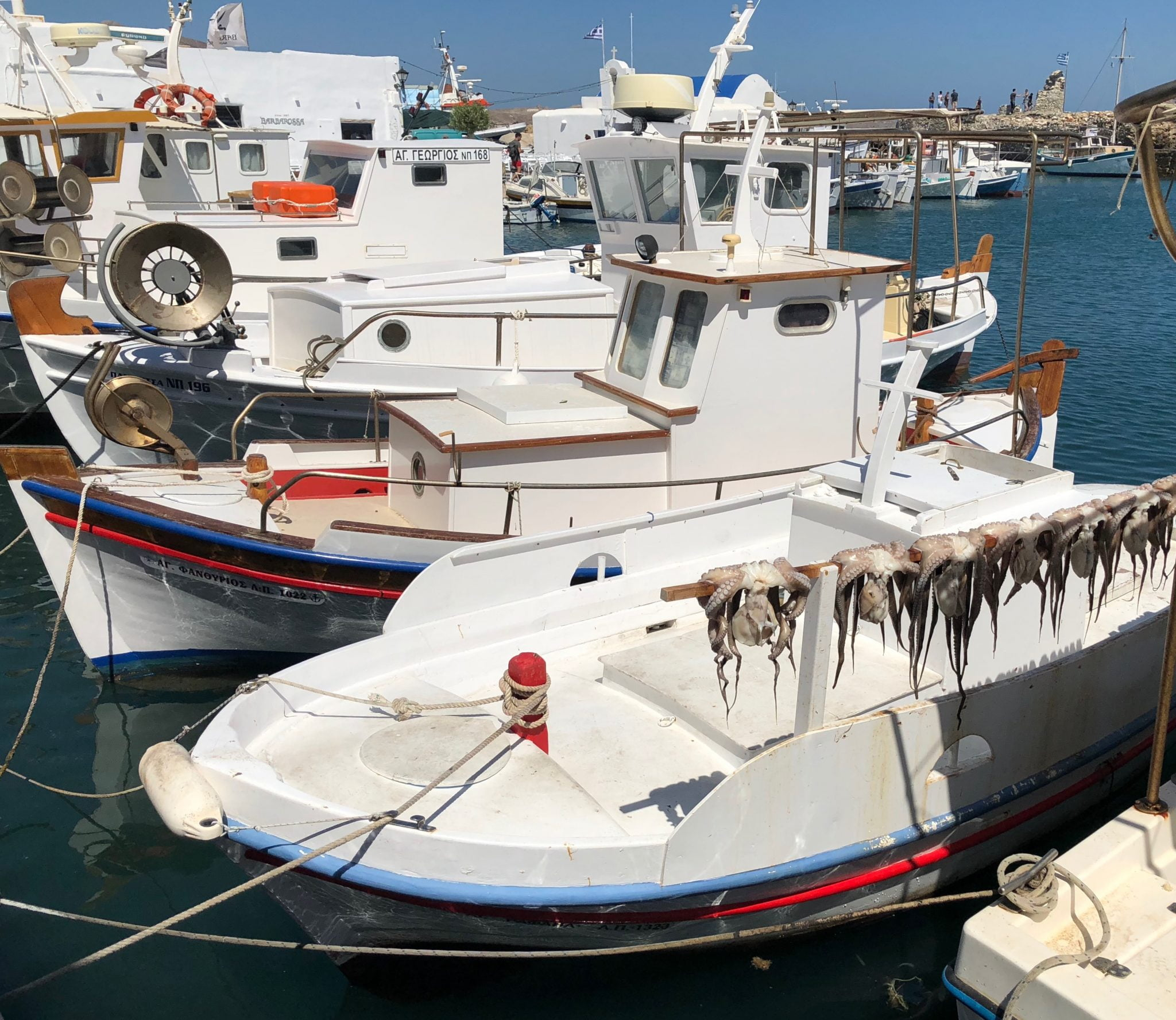 Fishing boats, Paros, Greek Islands