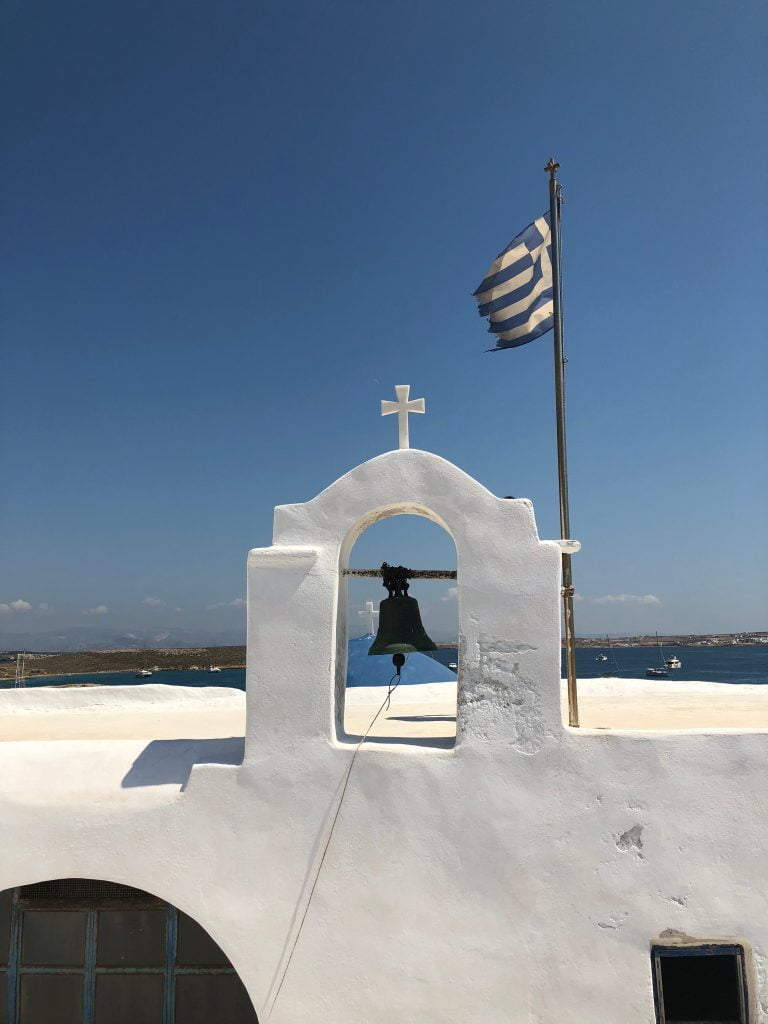 Greek Church, Milos, Greek Islands
