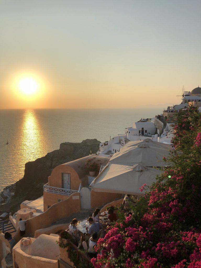 Santorini sunset, Greek Islands