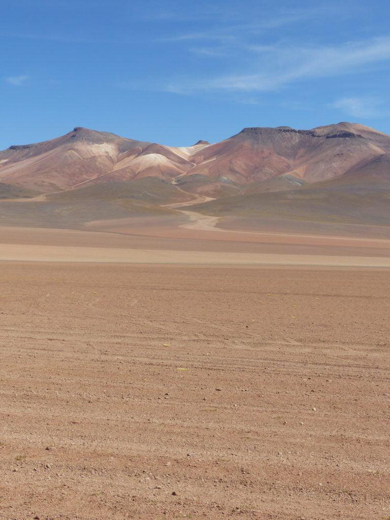 Mount Siloli of 7 Colours, Salt Flats, Bolivia