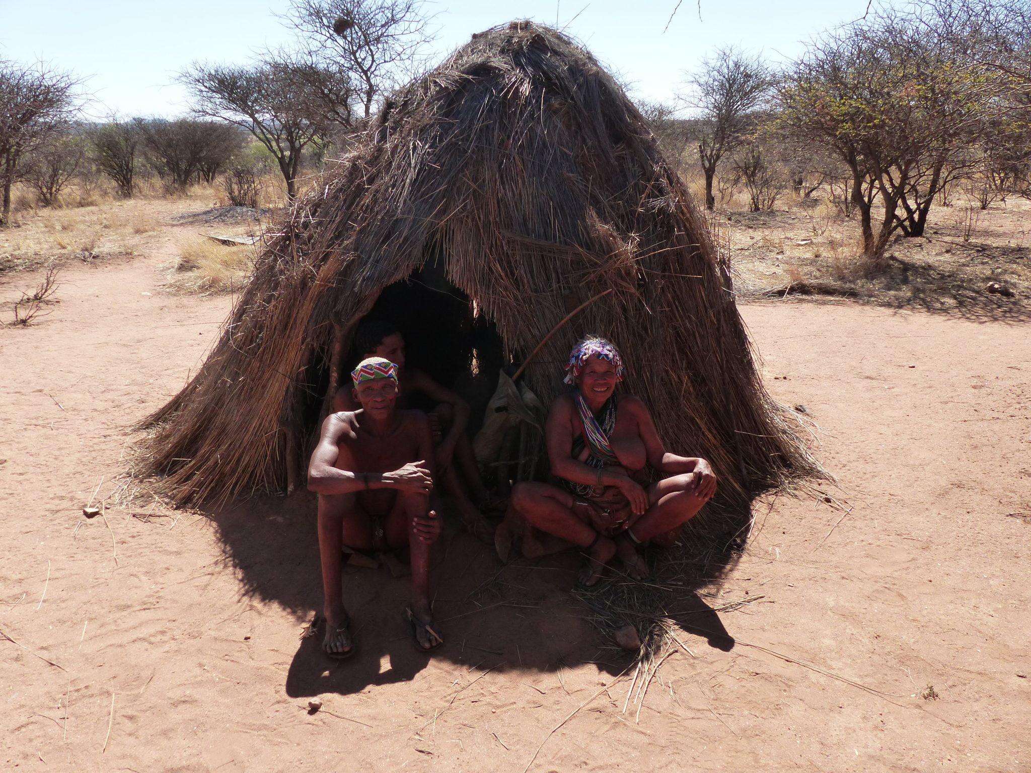 San People of Namibia