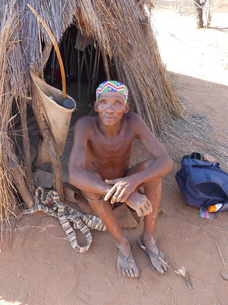 San Bushman of Namibia
